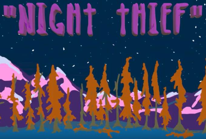"""DAKOTA SLIM's """"NIGHT THIEF"""" Animation"""